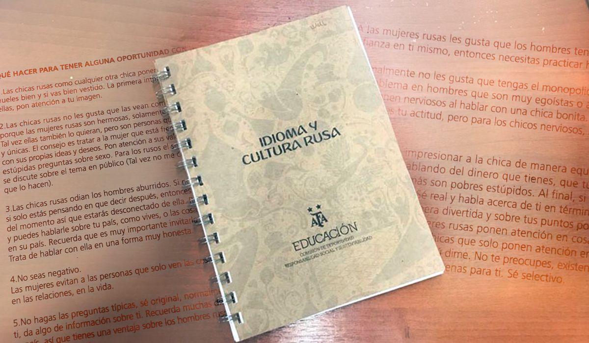 Este es el polémico manual