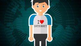 Una remera que diga I❤️ Internet