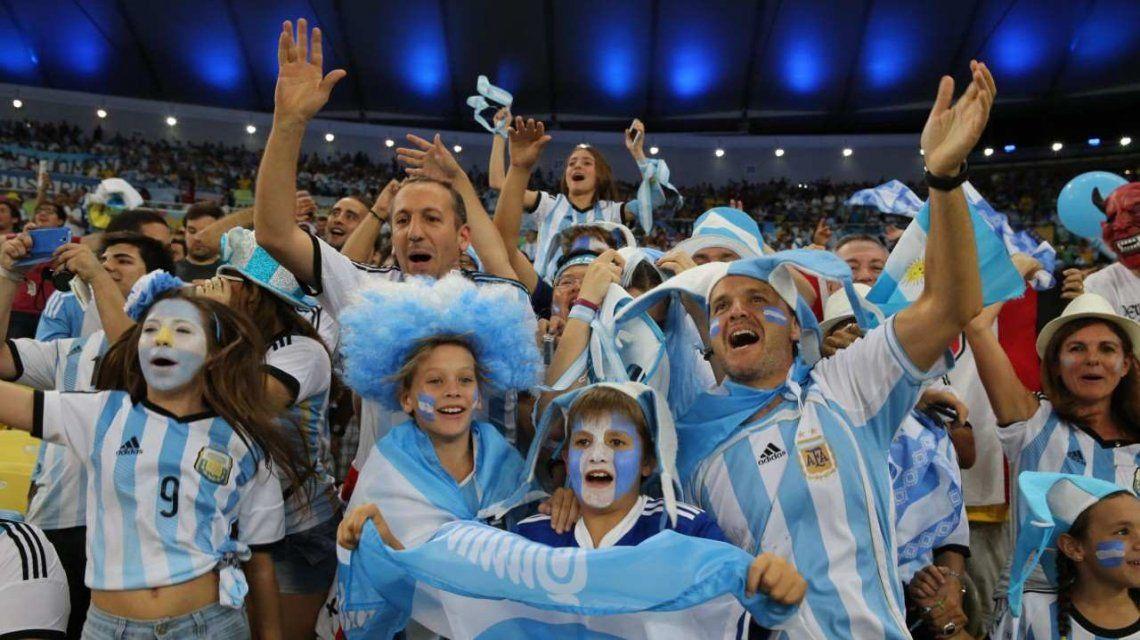 Argentina está en el tercer puesto de demanda de entradas para el Mundial