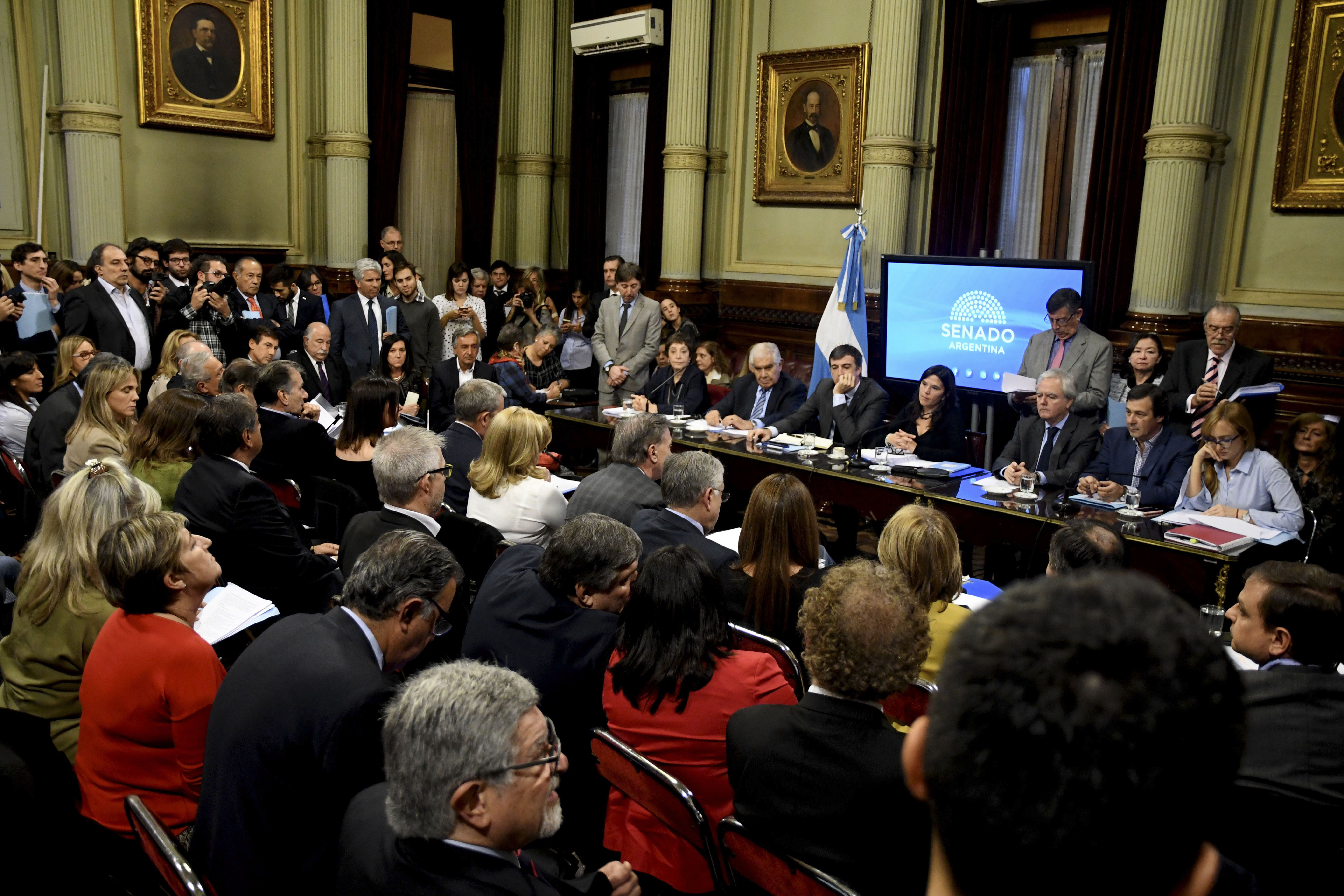 Senado: la discusión por el tarifazo continuará la semana próxima