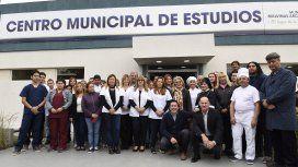 El intendente de Malvinas Argentinas, Leo Nardini, inauguró el Centro Municipal de Estudios