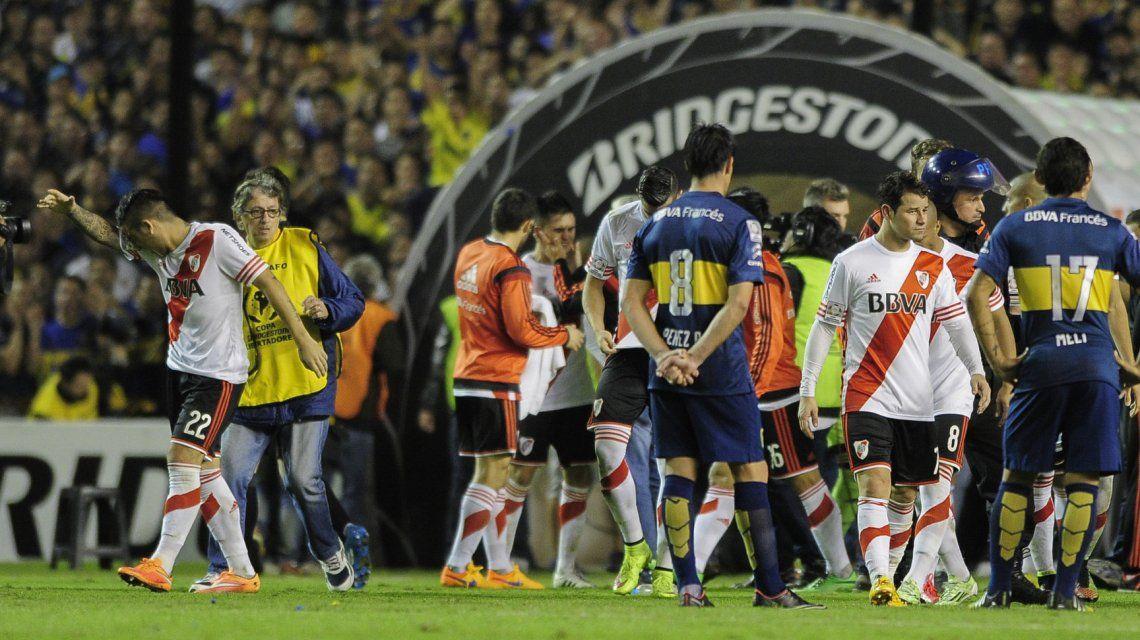 El último Boca vs. River por la Libertadores tuvo un final vergonzoso