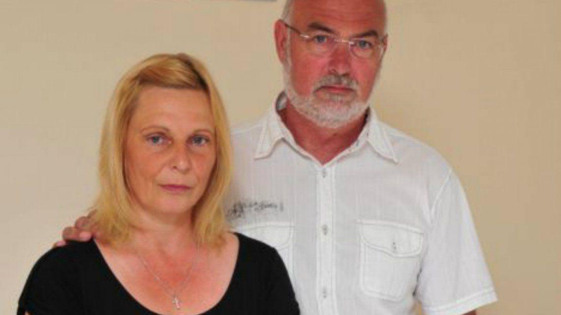Los padres de Laura Hill