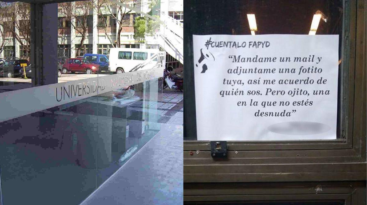 Acoso en la Facultad de Arquitectura de la Universidad de Rosario