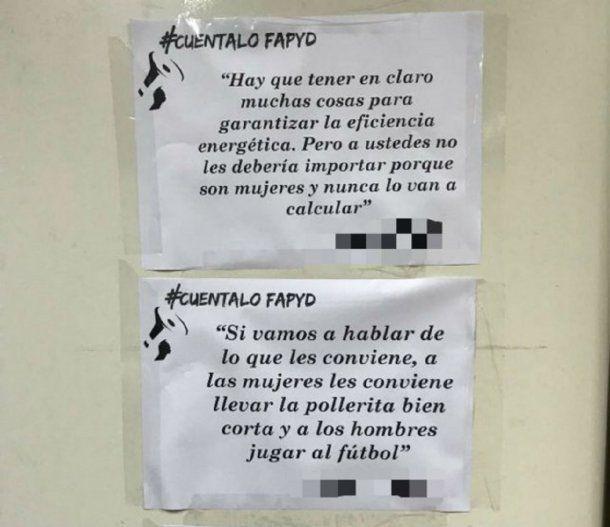 <div>Acoso en la Facultad de Arquitectura de la Universidad de Rosario</div><div><br></div>