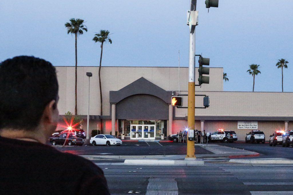 Las Vegas: evacuaron un shopping por temor a que un hombre armado iniciara un tiroteo