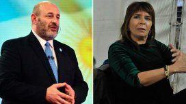 Fuerte cruce entre los periodistas Santiago Cúneo y Silvia Mercado