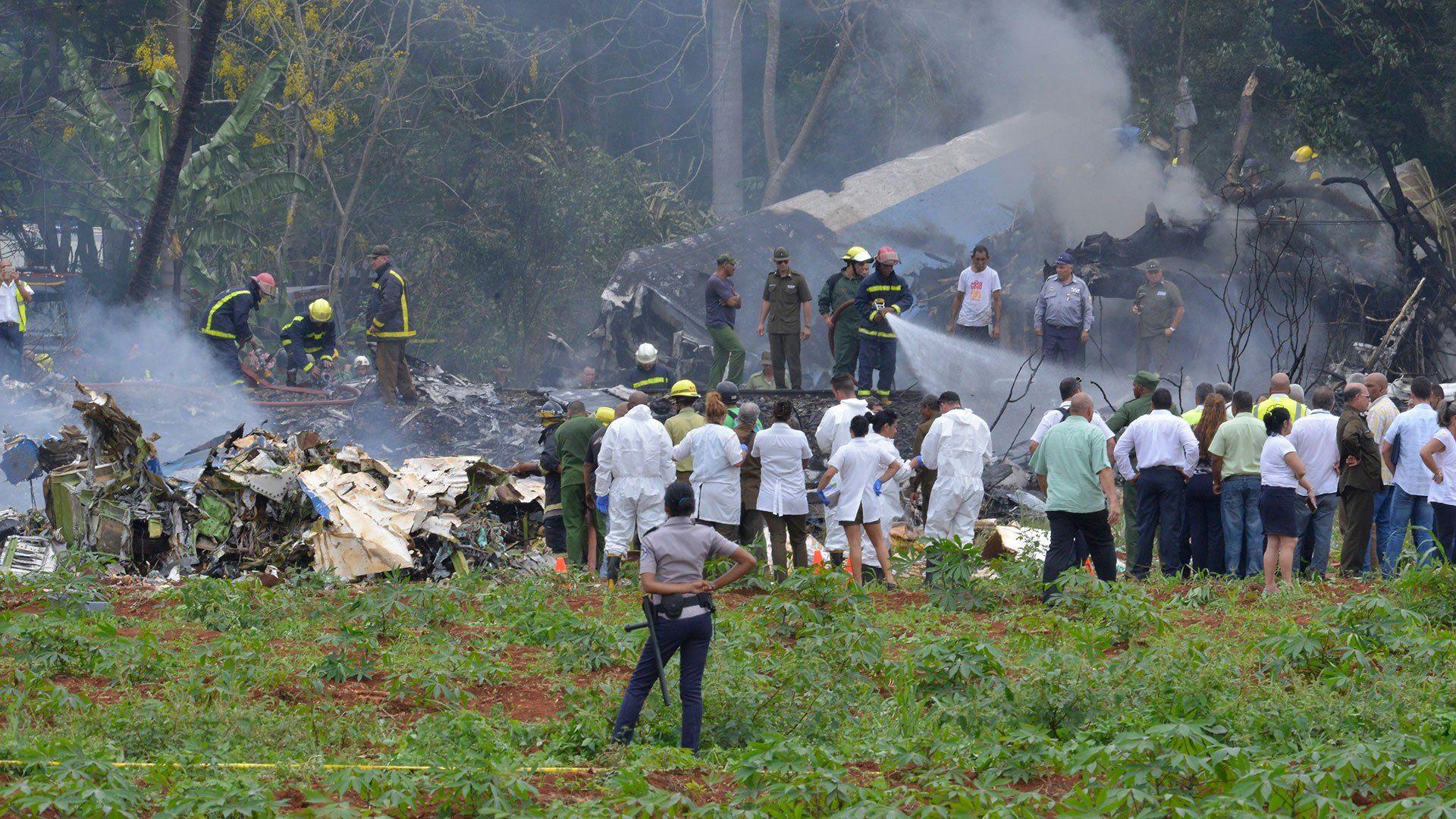Dos turistas argentinos se encuentran en el centenar de víctimas fatales del accidente aéreo en La Habana