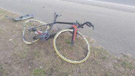 Atropellaron a un ciclista en la ruta 226 - Crédito 0223