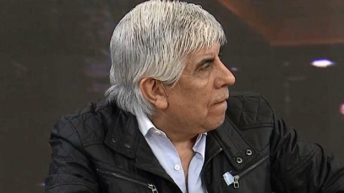 Hugo Moyano contra Carrió: Tiene problemas y dice cualquier disparate