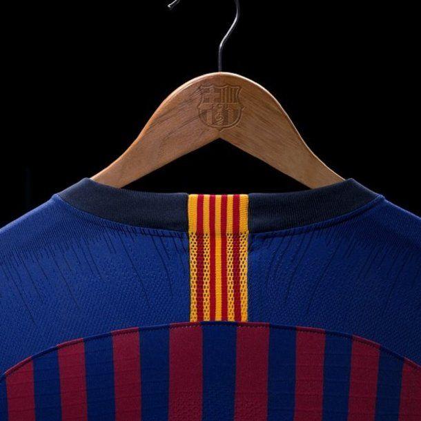 La camiseta de Barcelona para la temporada 2018/2019 - Crédito: @FCBarcelona_es
