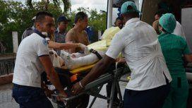 Las tres mujeres sobrevivientes fueron rescatadas de los escombros; una ya está consciente