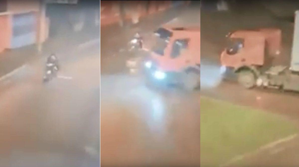 Fatal accidente de un motociclista en Viedma