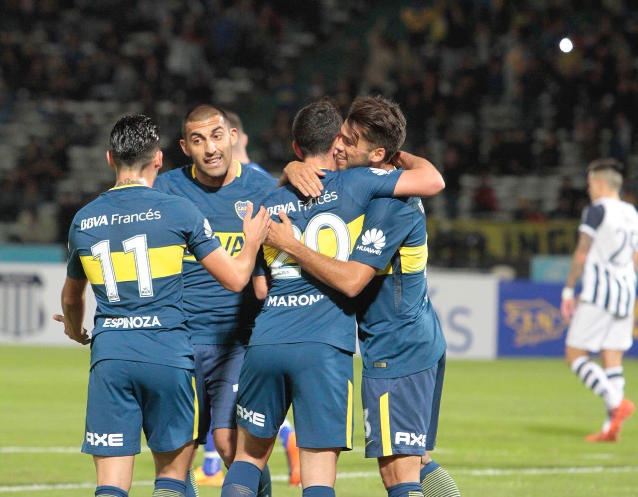 Boca le gana a Talleres en Córdoba
