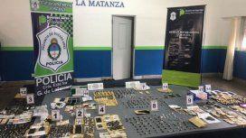 La Matanza: detuvieron a 13 personas en un operativo antidrogas