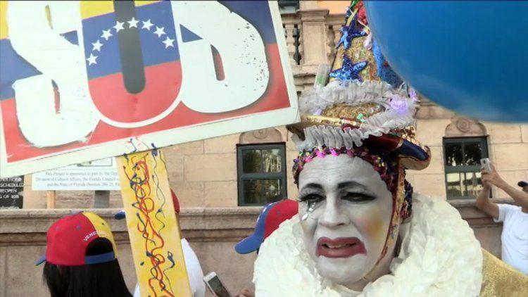 Protestas de Venezolanos en Miami
