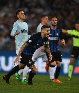 Gol de Icardi en Inter - Crédito:@Inter_es