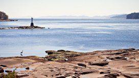 Gabriola Island, el lugar donde apareció el pie número 14. (The Washington Post/ iStock)