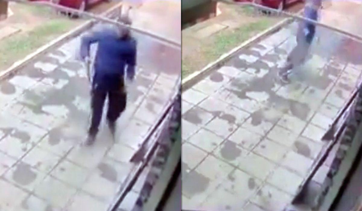VIDEO: Un panadero fue baleado al resistir el tercer robo en 20 días