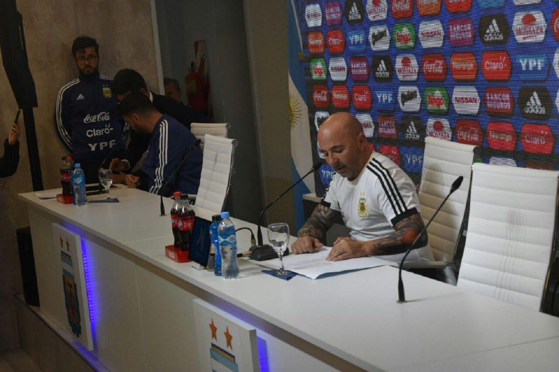 Sampaoli explicó por qué dejó sin Mundial a Romero