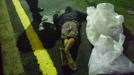 Viveros recibió un disparo en la nuuca y quedó tendido sin vida en el andén