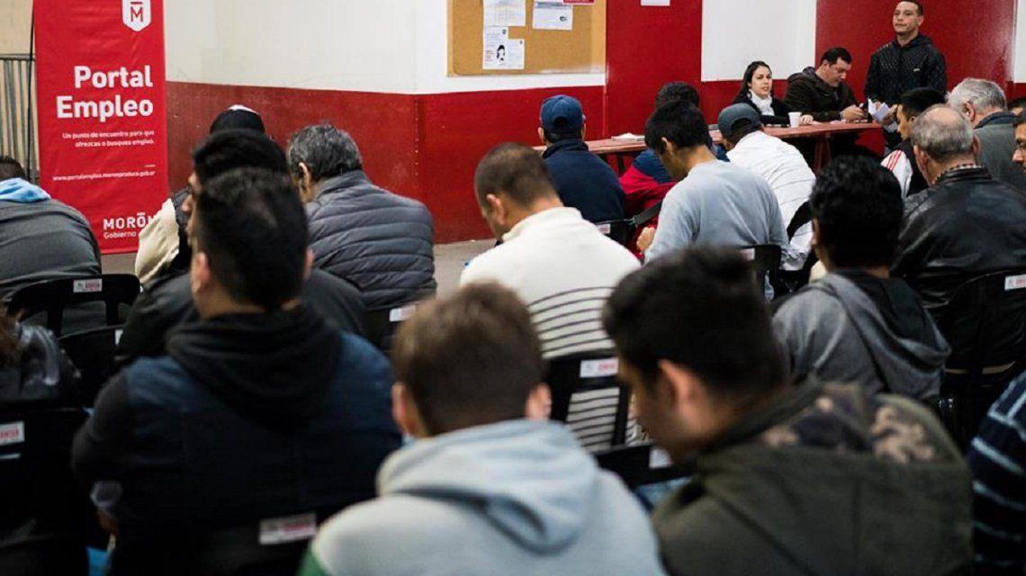 El portal de empleo de Morón ya generó 350 nuevos puestos