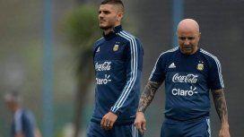 La reunión antes de la lista final: ¿qué le dijo Icardi a Sampaoli sobre su ausencia en el Mundial?