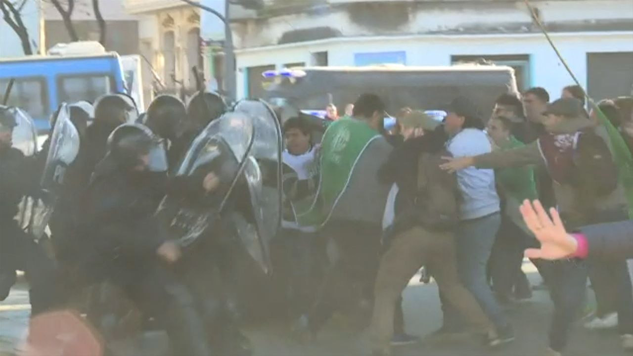 Incidentes y tensión en la comisaría en la que está detenido Néstor Segovia