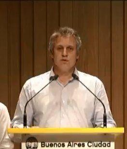 Felipe Miguel, jefe de Gabinete porteño.