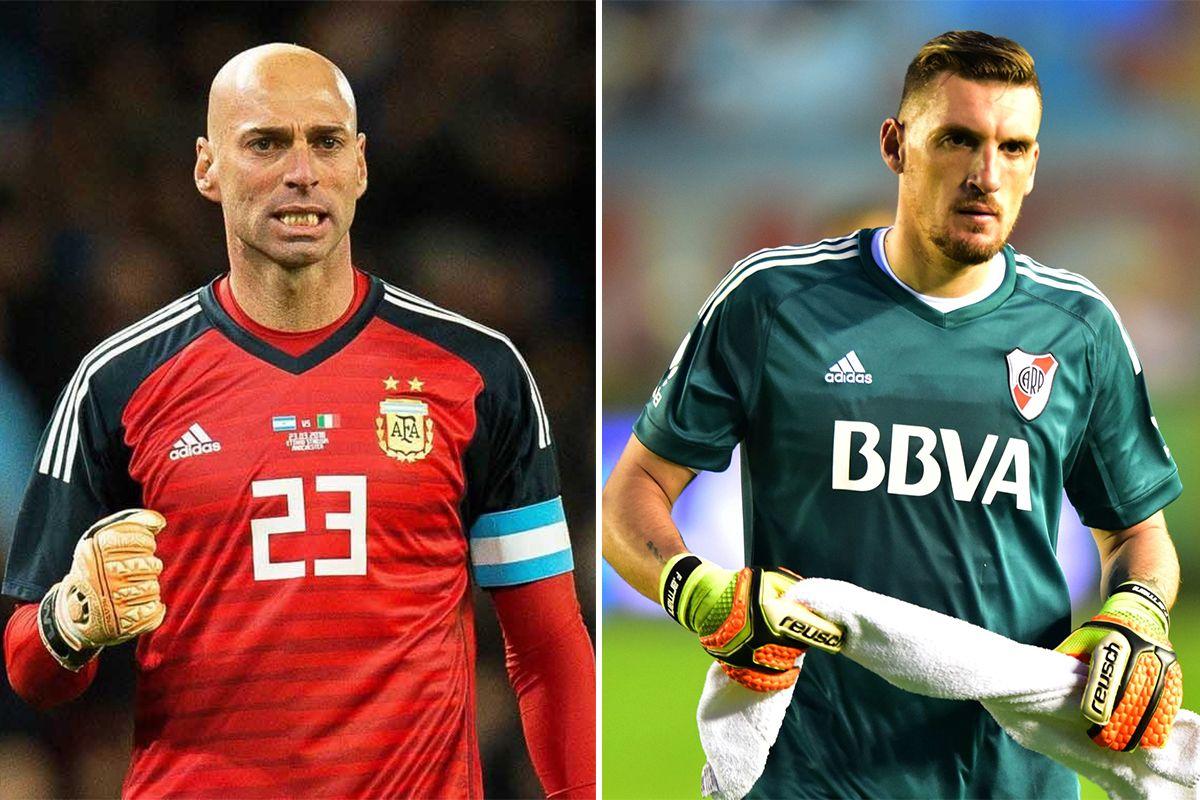 Tras la lesión de Romero, ¿quién tiene que ser el arquero titular en el Mundial: Caballero o Armani?