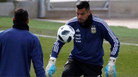 Sergio Romero no va al Mundial