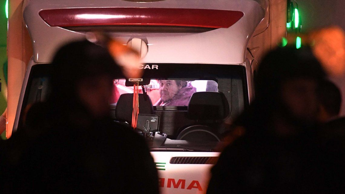 Trasladaron a Néstor Segovia al Hospital Argerich por un pico de presión
