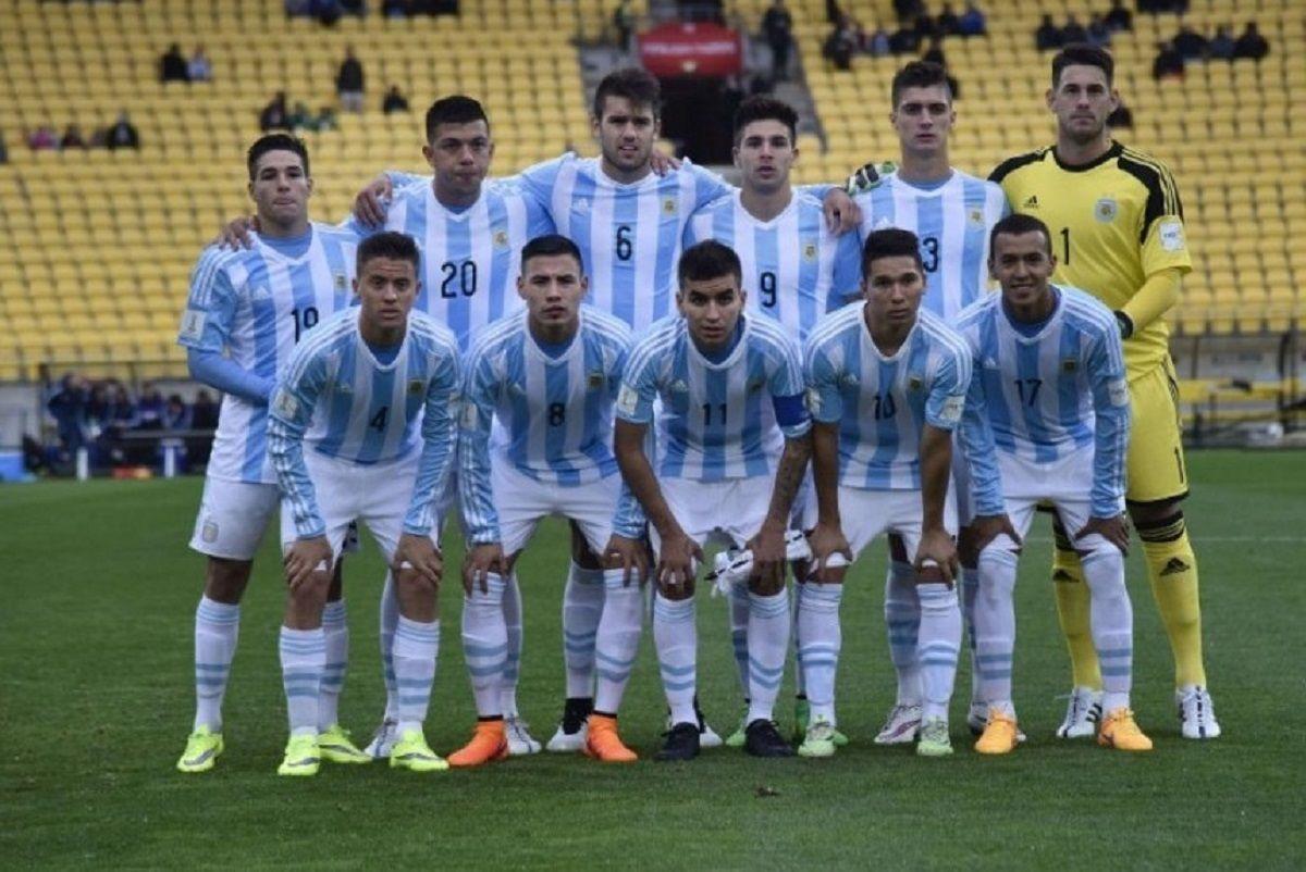 Kaku Romero Gamarra en el Sub 20 de 2015