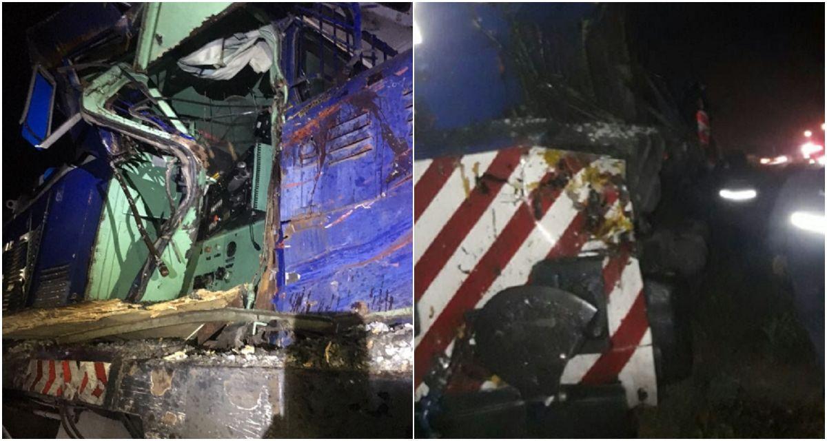 Chocaron un tren de la línea San Martín y un camión en Pilar: murieron dos personas