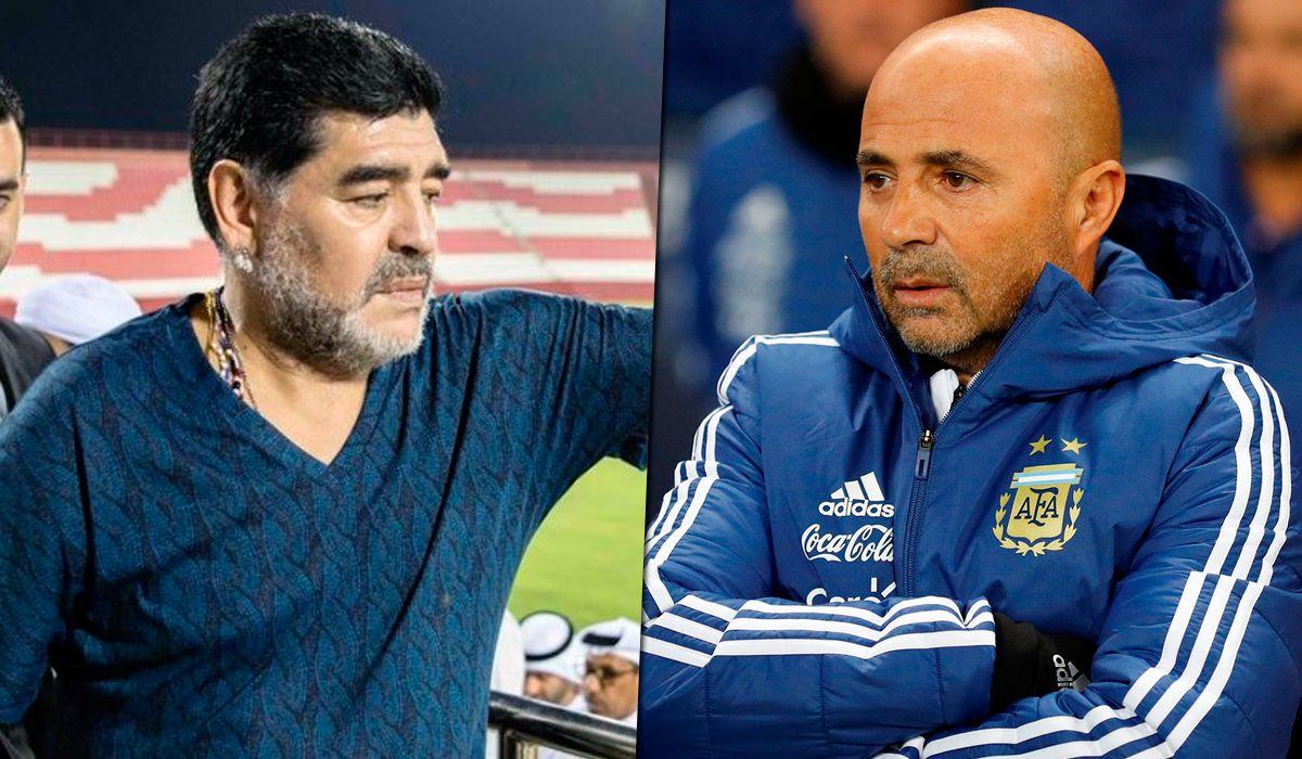 Lionel Messi y el Kun Agüero son los favoritos de Diego Maradona, que cuestionó la salida de Sergio Romero