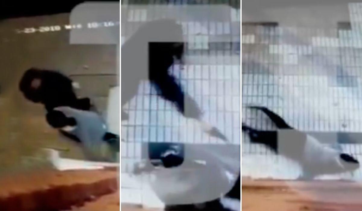 La mujer fue acorralada por su ex cuando iba hacia su trabajo