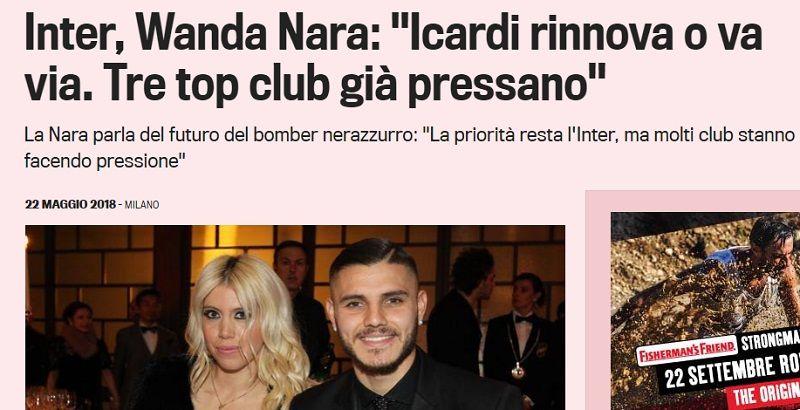 Tras quedarse fuera del Mundial, a Mauro Icardi lo buscan tres grandes de Europa