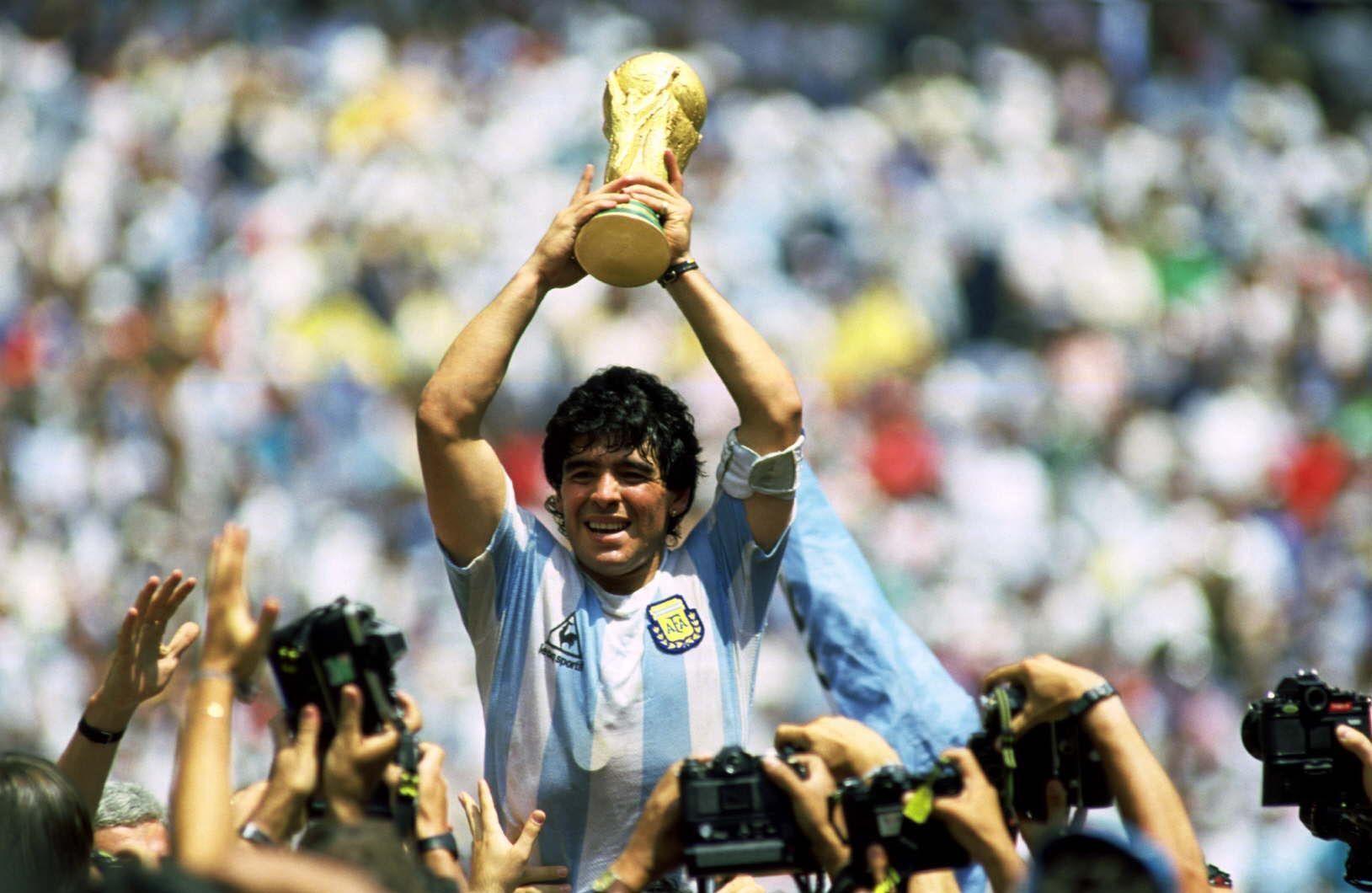 Maradona y la Copa del Mundo en México 86