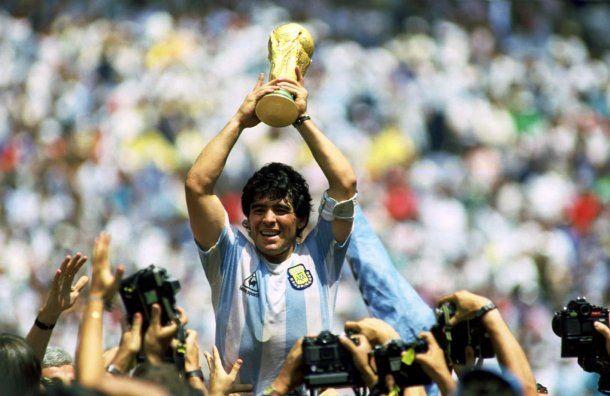Maradona y la Copa del Mundo en México