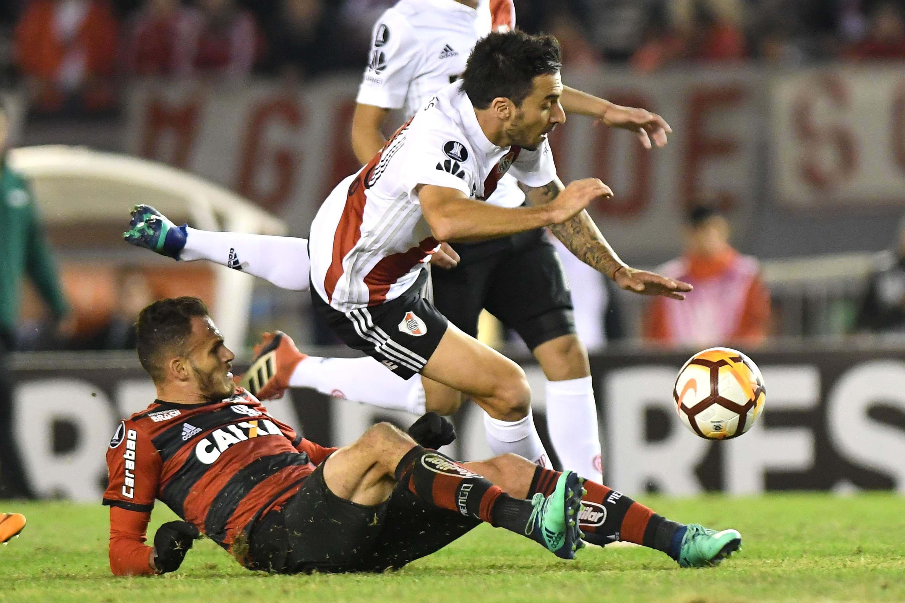 River y Flamengo en el Monumental