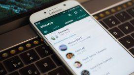 Algunos usuarios de WhatsApp sufren un grave error