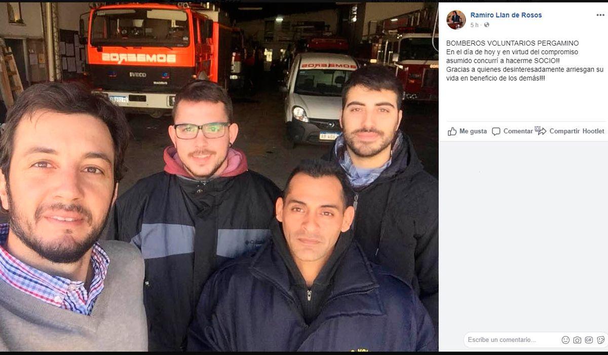 Cerró un descatamento de bomberos en Pergamino porque no pueden pagar la luz