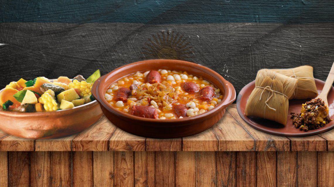 Locro, carbonada y tamales: los platos típícos para celebrar el Día de la Independencia