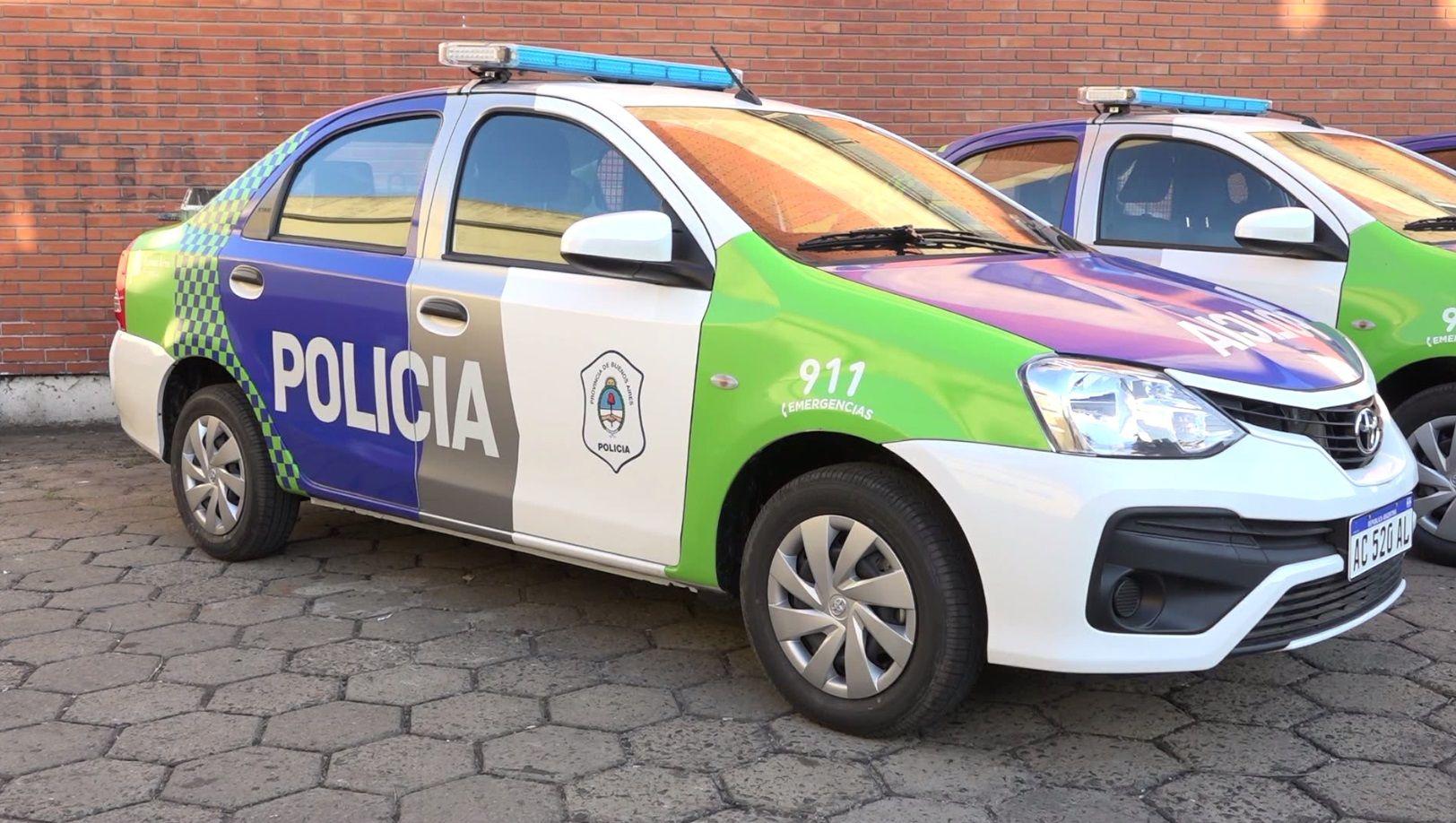 La Provincia asignó 16 nuevos patrulleros para Avellaneda