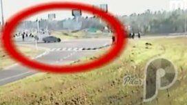 VIDEO: Así se escapó el arquitecto que atropelló y mató a su empleado en la Panamericana