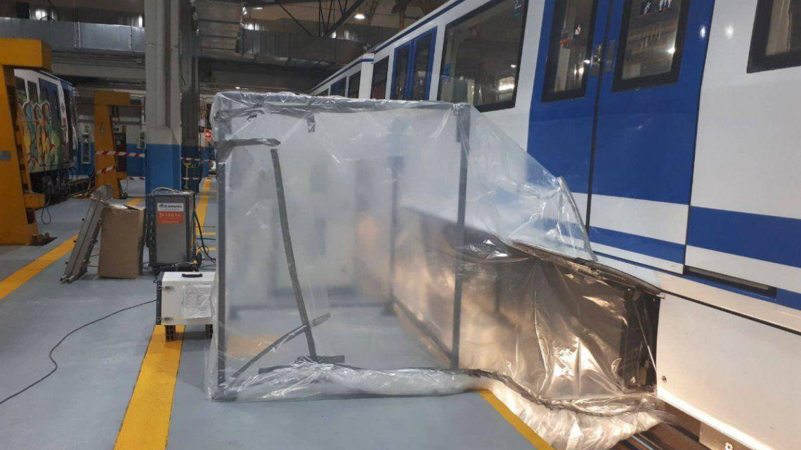 El amianto no es una amenaza para los pasajeros pero sí para los trabajadores del subte