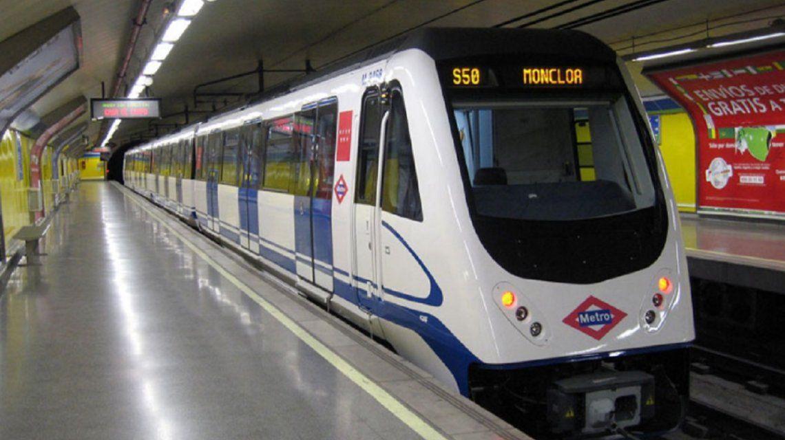 Murió un empleado del subte de Madrid que desarrolló un cáncer por los vagones
