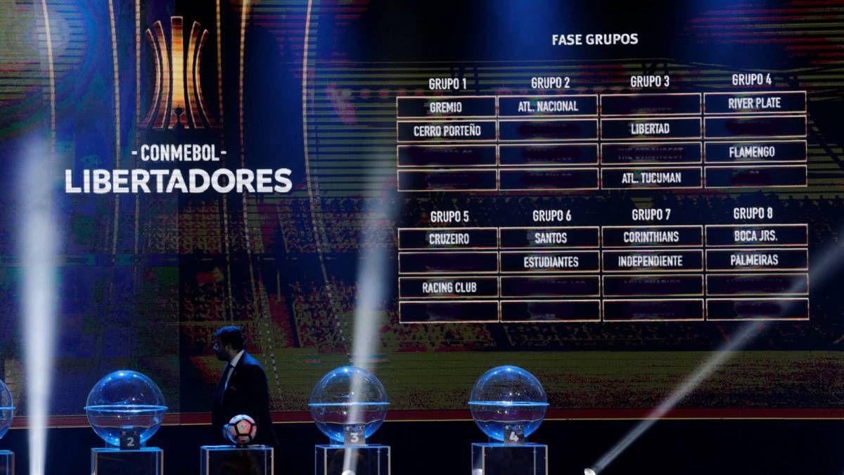 Clasificados a octavos de final en la Copa Libertadores 2018