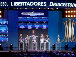 Sorteo de la Copa Libertadores