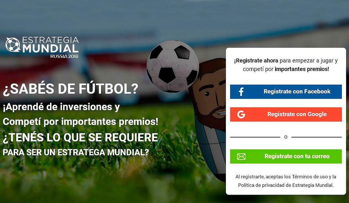 Estrategia Mundial: el juego que mezcla la pasión por el fútbol y las inversiones